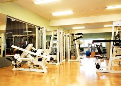 Auszug des Geräteparks Seestern Fitnessclub Süd