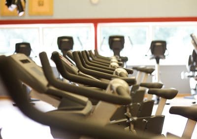 Cardiopark Fahrräder perspektivisch