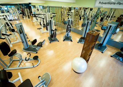 Zirkelanordnung im Präventions- und Gesundheits-Park des Seestern Fitnessclub Süd