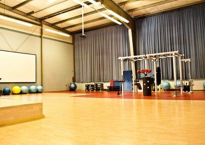 Kursraum für den Fitnesskurs Funktionelles Training mit Iron Qube