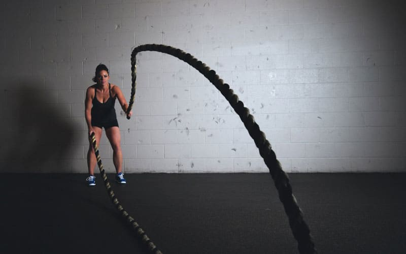 Functional Training - Battle Rope