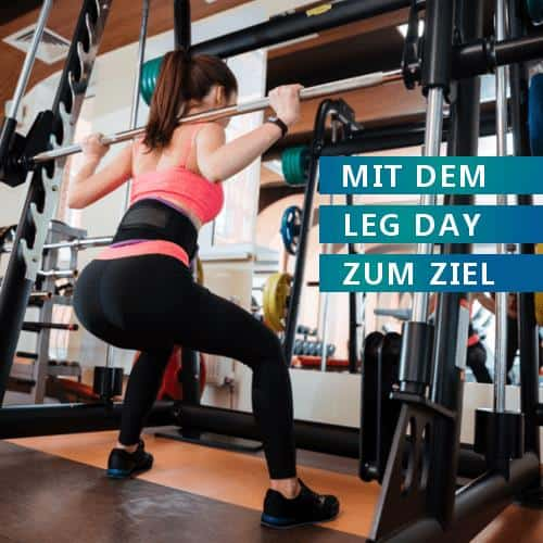 Leg-Day Übungen für den Knack-Po