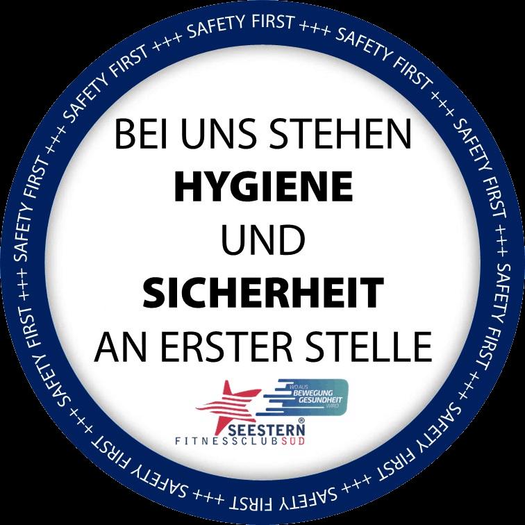 Safety First - Bei uns stehen Hygiene und Sicherheit an erster Stelle